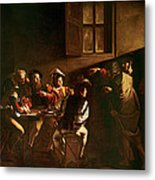 The Calling Of St Matthew Metal Print