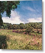 The Calling Of Summer Fields Metal Print