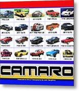 The Camaro Poster Metal Print
