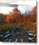 The Campsite Metal Print