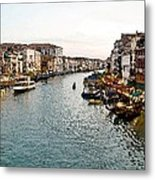The Canal Metal Print by Cole Black