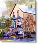 The Candy Shoppe Metal Print