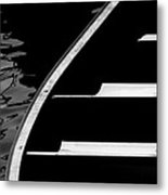 The Canoe Metal Print