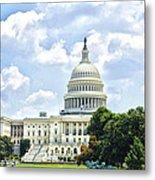 The Capitol Building Metal Print