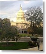The Capitol Metal Print
