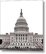 The Capitol Metal Print by Olivier Le Queinec