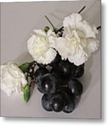 The Carnation Bunch Metal Print