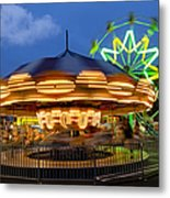 The Carnival Is In Town Metal Print