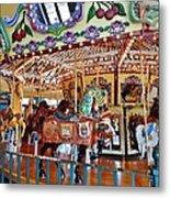 The Carousel Ride Metal Print