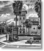 The Casa Monica Metal Print