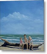 The Castaways Metal Print