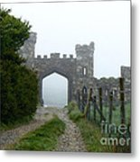 The Castle Gate Metal Print