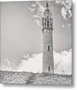 The Castle Tower Metal Print