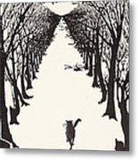 The Cat That Walked By Himself Metal Print