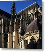 The Cathedral Basilica -  Amiens - France Metal Print