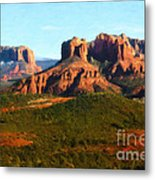 The Cathedral Complex Metal Print