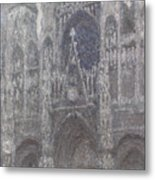 The Cathedral In Rouen Metal Print