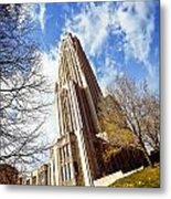 The Cathedral Of Learning 1 Metal Print
