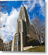 The Cathedral Of Learning 2g Metal Print