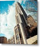 The Cathedral Of Learning 3 Metal Print