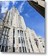 The Cathedral Of Learning 5 Metal Print