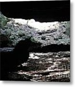 The Cave Is Not Dry  Metal Print