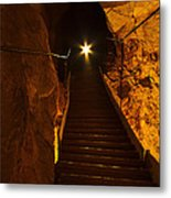 The Cavern Ghost Metal Print