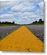 The Center Line Metal Print