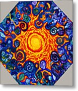 The Center Of All Beings Metal Print