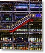 The Centre Pompidou II-paris Metal Print