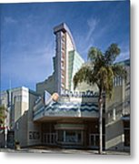 The Century Theatre In Ventura Metal Print