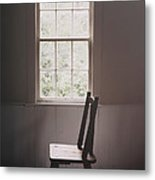 The Chair By The Window I Metal Print