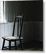 The Chair By The Window II Metal Print