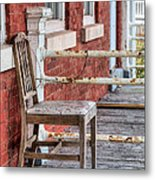 The Chair  Metal Print by JC Findley