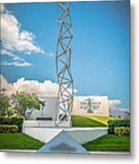 The Challenger Memorial 2 - Bayfront Park - Miami Metal Print by Ian Monk