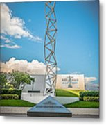The Challenger Memorial - Bayfront Park - Miami - Hdr Style Metal Print