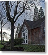The Chapel At Eagle Point National Cemetery Metal Print