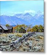 The Chapel Metal Print