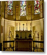 The Chapel In Chenonceau Castle Metal Print