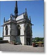 The Chapel Of Saint-hubert Amboise Metal Print