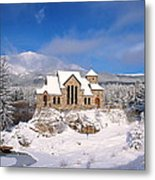 The Chapel On The Rock 3 Metal Print