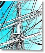 The Charles W Morgan Metal Print
