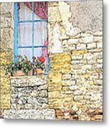 The Charme Of The Old Metal Print