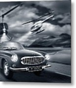 The Chase 2 Metal Print