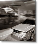 The Chase 3 Metal Print