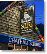 The Chatham Squire Metal Print