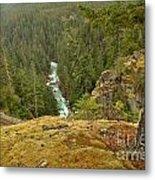 The Cheakamus River Gorge Metal Print