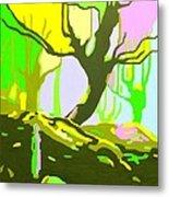 The Cherry Tree Metal Print