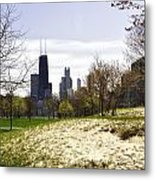 The Chicago Skyline Day-003 Metal Print