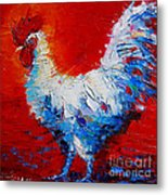 The Chicken Of Bresse Metal Print